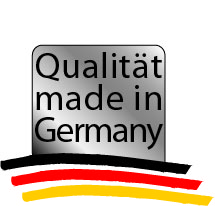 Qualität made in Germany [Logo]
